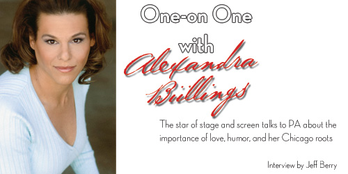 Alexandra Billings - Cover Story in POSITIVELY AWARE